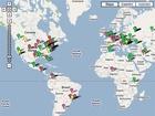 Mapa internetových černých děr