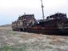 Aralské moře (Aral) je slané moře ve Střední Azii na hranici Kazachstánu a Uzbekistánu. Dříve - mořské dno, dnes - bez ryb.