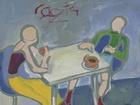 Rozhovor u kávy (Coffee Conversation), 1997