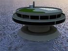 Takto by měla vypadat umělecká koncepce designu pro mořské kolonie na podpěrách. Institut pro mořské kolonie (The Seasteading Institute) představil ohromné shluky těchto staveb, které tvoří městské státy na otevřeném oceánu.
