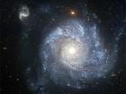 Galaxie NGC 1309 se nachází v souhvězdí Eridana vzdálené od nás 100 miliónů světelných let (fotografie pořízená orbitálním teleskopem Hubble). Tato galaxie má spoustu takových cefeid, které se mohou bez problémů stát vysílači mezigalaktického internetu.