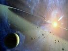 Mytologická role Theii jako matky bohyně měsíce Seléné je doporučením pro použití tohoto jména pro název hypotetické planety (repektive planetesimály), která podle teorie velkého impaktu narazila do Země, následkem čehož se vytvořil Měsíc.