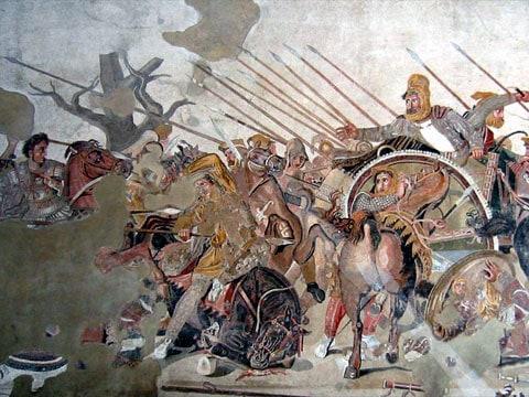 Chemické zbraně starověkých Peršanů