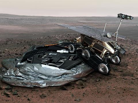 ESA riskuje kvůli hledání života na Marsu