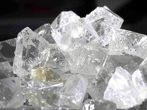 Diamant je nejtvrdší známý přírodní minerál (nerost) a třetí nejtvrdší látka vůbec (po fulleritu a ACNR). Jedná se o krystalickou formu uhlíku C. Tvoří hlavně jednotlivé krystaly oktaedrického, dodekaedrického nebo krychlového vzhledu.