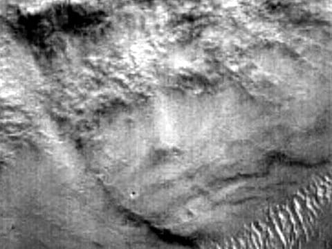 Dlouhou dobu se vědělo, že NASA vlastní velmi ojedinělý snímek jakési záhadné skulptury na povrchu Marsu. Dokonce se proslýchal i její název
