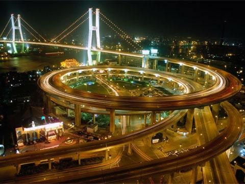 Dopravní ruch v Šanghaji