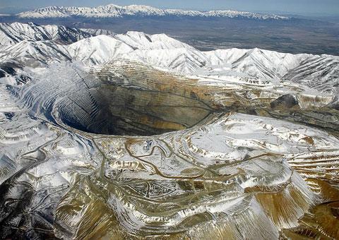 Důl Bingham canyon, Utah
