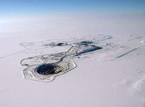 Důl Diavik, Kanada