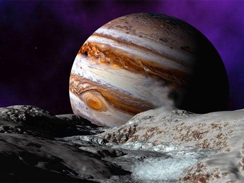 Europa je jedním ze satelitů planety Jupiter. Náleží k tzv. galileovským měsícům, neboť ji už v 17. století objevil Galileo Galilei. Je pojmenován podle jedné z milenek boha Dia, dcery vládce Týru.