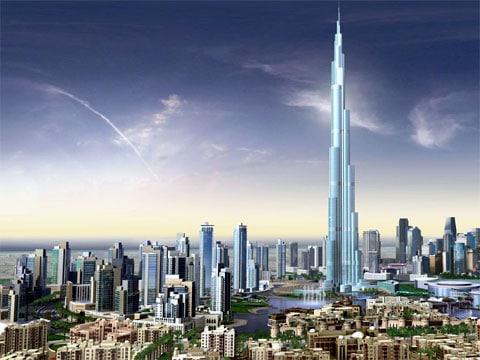 Mrakodrap Burj Dubai je nejvyšší budova