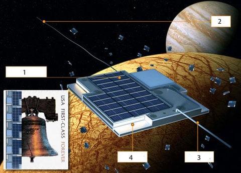 Meziplanetární koráb velikosti haléře