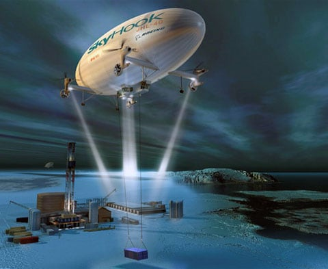 Loď dostala název JHL-40. Ve zkratce našly místo iniciály vedoucího společnosti (Jess Heavy Lifter), a číslo - to je 40 tun nákladu, který je vzducholoď schopna zvednout a transportovat na vzdálenost 370 kilometrů.