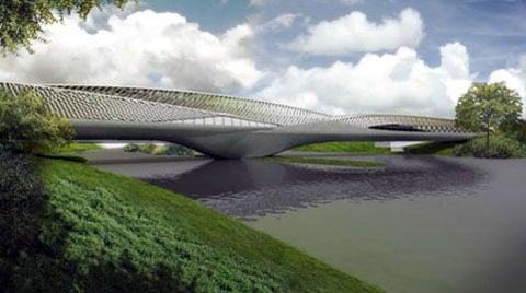 Most  Pabellón Puente de Zaragoza bude 270 metrů dlouhý.