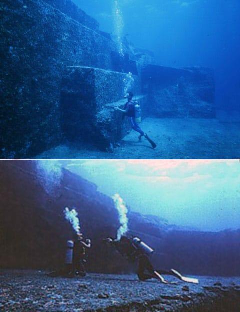 Někteří potápěči při pohledu na monolit upadají do posvátného vzrušení