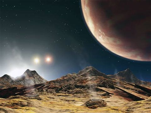 Planeta u trojhvězdy v souhvězdí Labutěs označením HD 188753 objevena pomocí havajského Keckova teleskopu