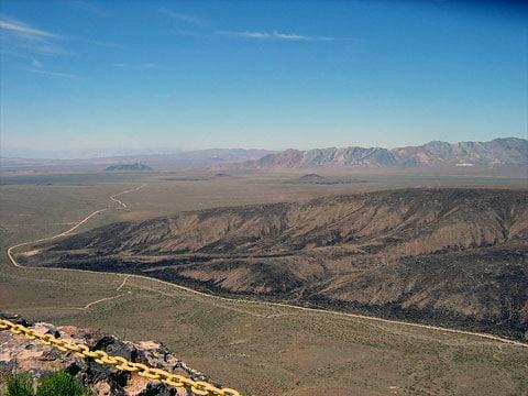 Skládka jaderného odpadu v Yucca Mountain