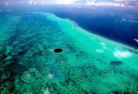 Velká modrá jáma, Belize