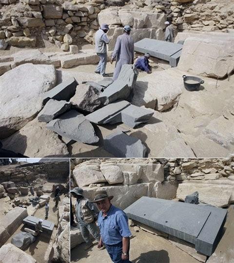 Zda je něco v tom sarkofágu - zatím nikdo neoznámil. Je jasné, že se může ukázat, že je to nějaký staroegyptský teleport, a pak nás opět budou tahat za nos, prý našli obyčejný sarkofág s mumií. Vždycky to tak je.